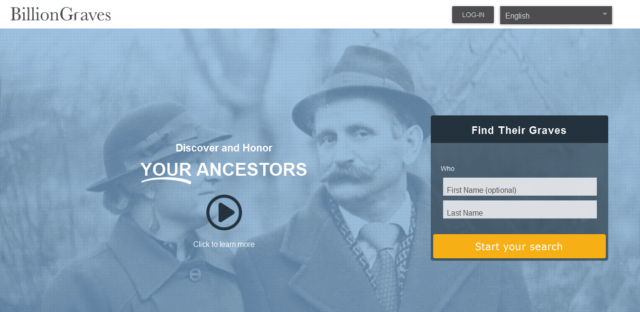 Genealogy Websites
